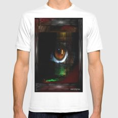 Window Of The Soul Mens Fitted Tee White MEDIUM