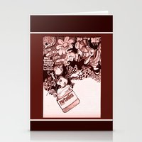 nutella Stationery Cards featuring nutella  by Kim Rose
