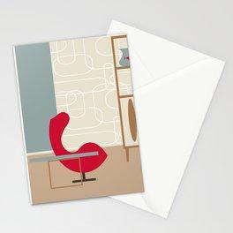 Inside Mid-century modern 122 Stationery Cards