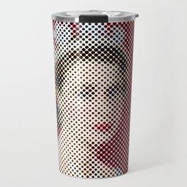 Dotted Queen Elizabeth Travel Mug