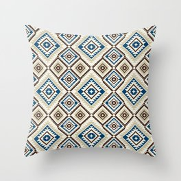 Navajo Seven Throw Pillow