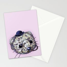 Gentleman Mink Stationery Cards