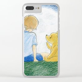 How old shall I be then? Clear iPhone Case