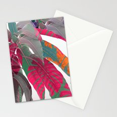 Tropical abstract(5) Stationery Cards