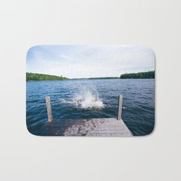 Lake Splash Bath Mat