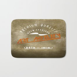Art Agility Premium Quality Retro Bath Mat