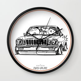 Crazy Car Art 0021 Wall Clock