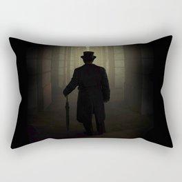 Evening walk in the old town Rectangular Pillow