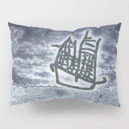 Fragata a la vista! Pillow Sham