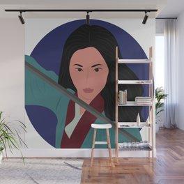 Mulan Warrior Princess Wall Mural