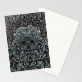 Skull Peaces Stationery Cards