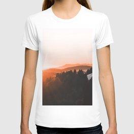 Warm Mountains T-shirt