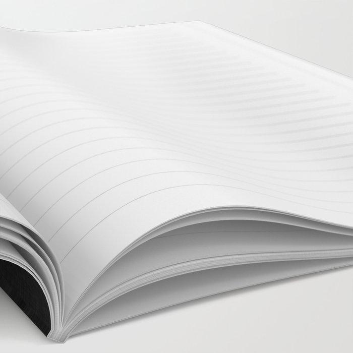 An Apple A Day BW Notebook