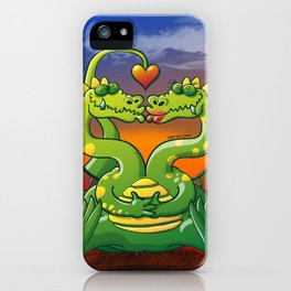 Dragons Madly in Love iPhone Case