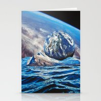 planets Stationery Cards featuring Planets by John Turck