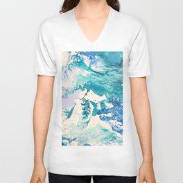 Marble Ocean Unisex V-Neck