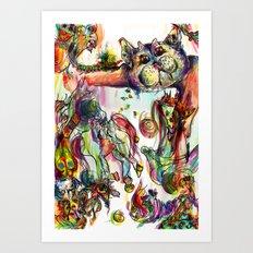 catland Art Print