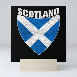 Scotland Distressed Mini Art Print