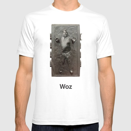 Steve Wozniak in Carbonite T-shirt