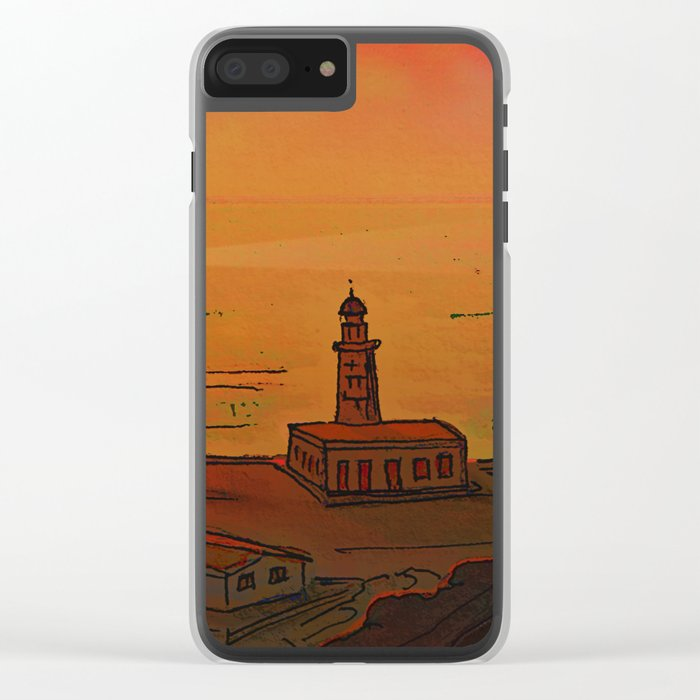 Good Morning / New and Old Lighthouse Fuencaliente La Palma Clear iPhone Case