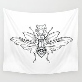 Beetle's Eye Wall Tapestry