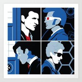 The 4 Doctors (2005-2018) Art Print