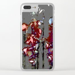 The Blood Rose Clear iPhone Case