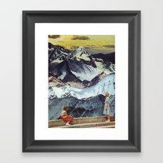 RANGES Framed Art Print