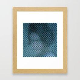 Antonina Shulz in the color grid Framed Art Print