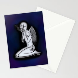 Abuse - She Used To Be Mine Stationery Cards