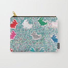 painting for kids-the hares Carry-All Pouch