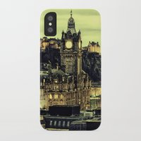 edinburgh iPhone & iPod Cases featuring Edinburgh by EclipseLio