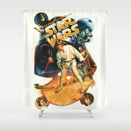 Space Fantasy 10th Anniversary Shower Curtain