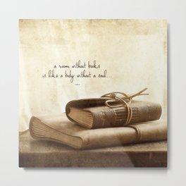 a book addiction... Metal Print