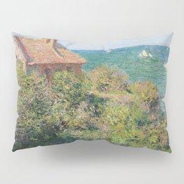 Fisherman's Cottage at Varengeville by Claude Monet Pillow Sham