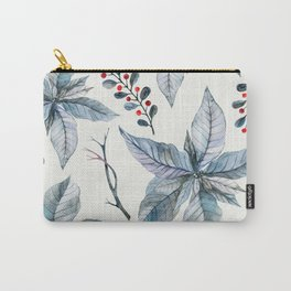 Poinsettia pattern 1 Carry-All Pouch
