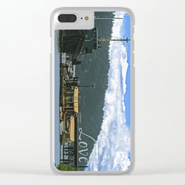 Love Harbor Clear iPhone Case