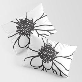 Flower drawing Pillow Sham