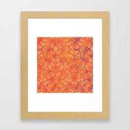 Jasper's Breakfast Framed Art Print