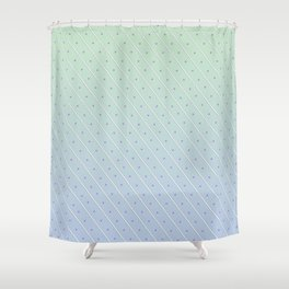 Stripes and Polka-dots Shower Curtain