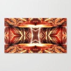 Copper Pipes Canvas Print
