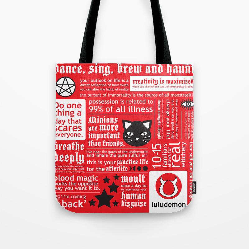 Luludemon Tote Bag