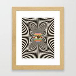 Solar Pupil I  Framed Art Print