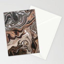 Melted Marble I Stationery Cards