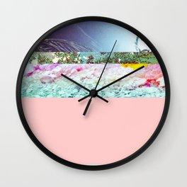 Away on Vacation Wall Clock