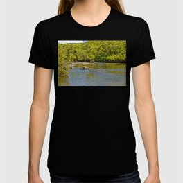 Beautiful river in the tropics T-shirt