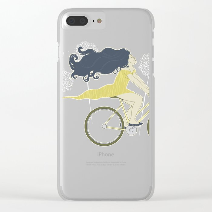 Ventura Highway Clear iPhone Case