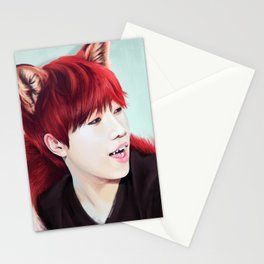 Fox Gyu Stationery Cards