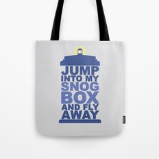 Snog Box (Tardis) Tote Bag
