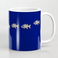 goldfish Mugs featuring goldfish by EnglishRose23